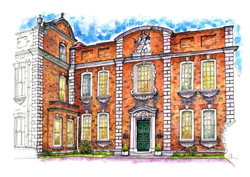 A3 Print Britannia House