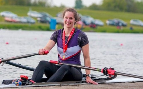 story image for OR Rower Caitlin wins Gold