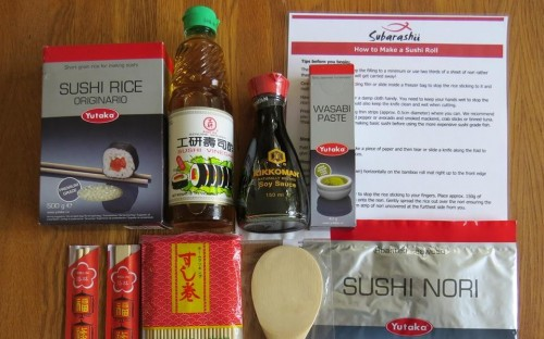 story image for Subarashii/Make Sushi in School - Tracy Coult (née Newton)
