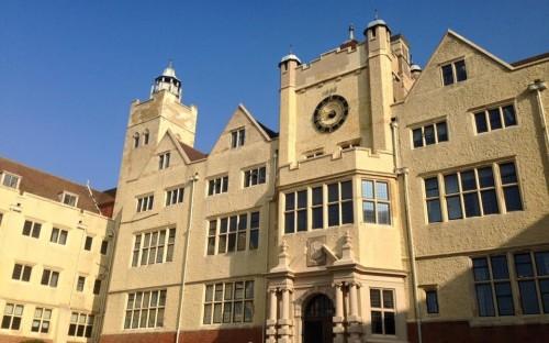 Front of Roedean school