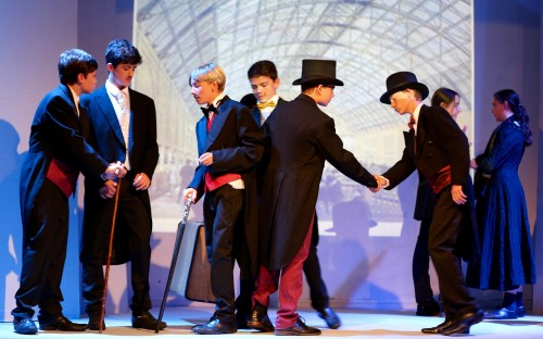 Phileas Fogg embarks on his journey 'Around the World in 80 Days'