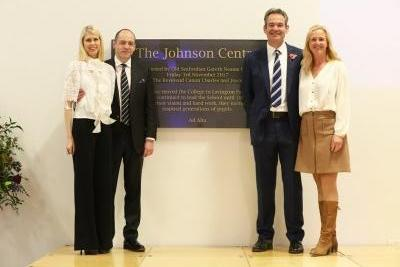 Image - Old Seafordian Gareth Neame opens The Johnson Centre
