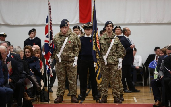 story image for Remembrance Service 2018