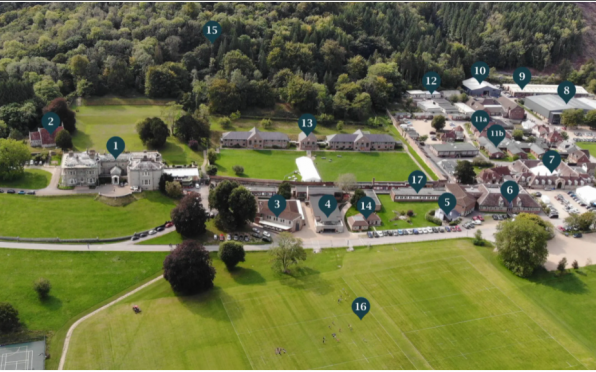 Seaford's Interactive Campus Map