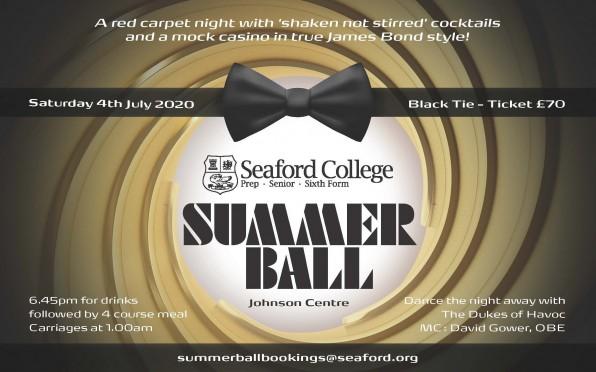 Summer Ball Invitation