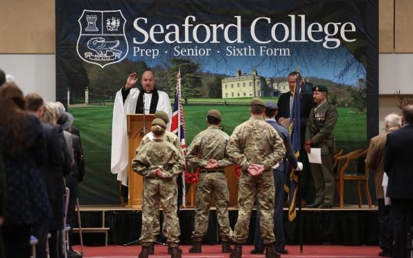 Seaford's Remembrance service 2019