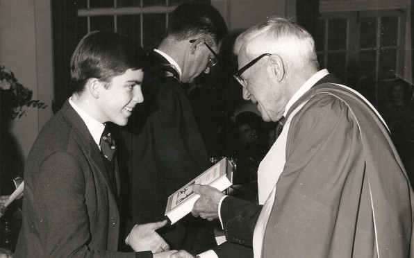 Rob Chate, Form 5P - Prize Giving Day, 1967