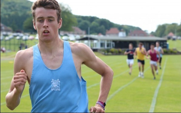 Harry Leleu running at Seaford's Sports Day