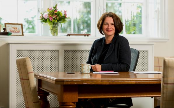 Headmistress Rebecca Dougall