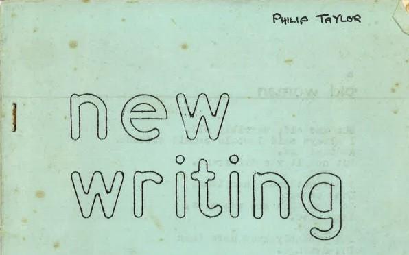 New Writing - Sidcot June 1963