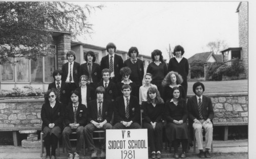 Sidcot Scool 1981 - Upper 5th