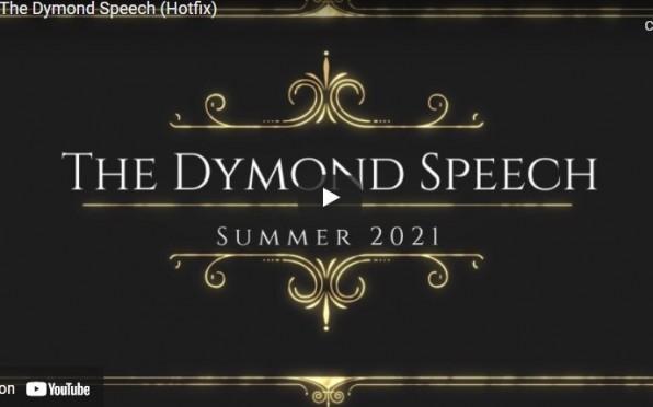 Dymond Speech Competition Summer 2021