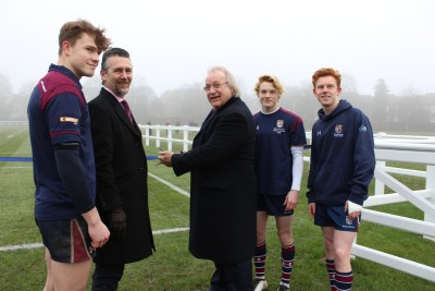 Gallery - Official Opening of The Coton Pitch 21 January 2017