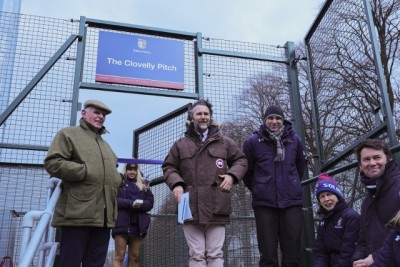 Gallery - Opening of the Clovelly Pitch 17 March 2018