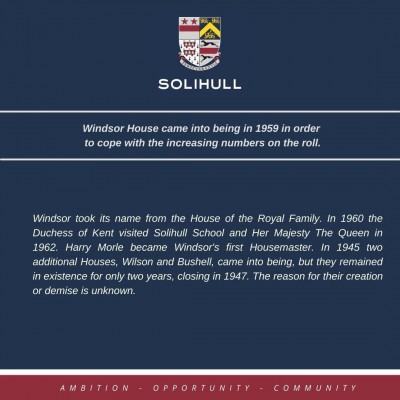 Gallery - Solihull School House History