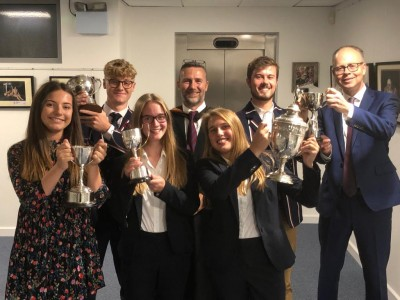 Gallery - Speeches and Presentation of Sixth Form & Middle School Prizes September 2019