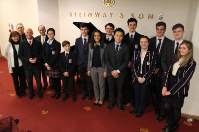 Gallery - Visit To Steinway Hall January 2017