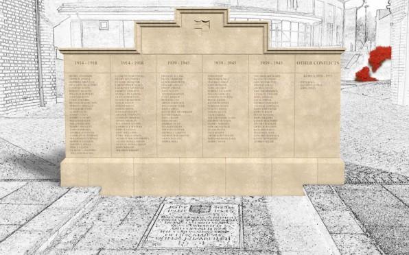 The New War Memorial