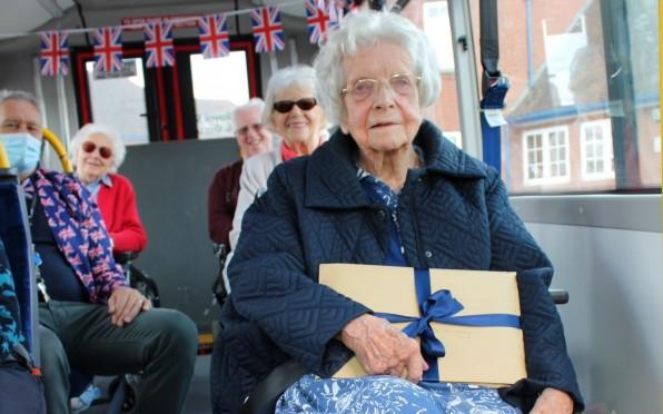 Barbara Bale on her 95th Birthday