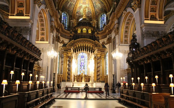 Solihull School Chamber Choir sin Evensong at St Paul's Cathedral