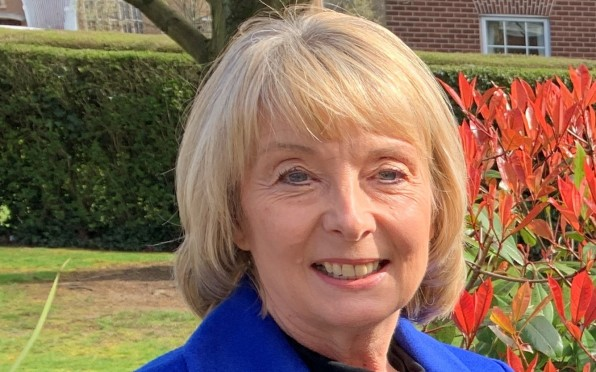 Louise Cox, President of the Saint Martin's Old Girls