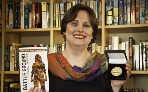 Bronze-medal winner Rachel