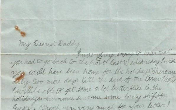 Letter from Alumni