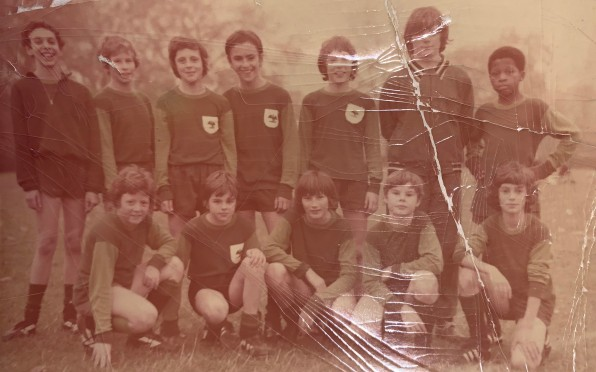 1st XI football team 1972