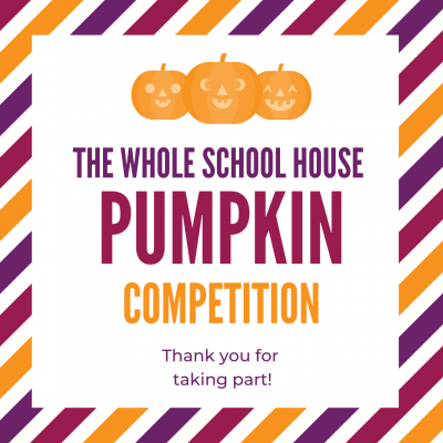 Gallery - Whole School House Pumpkin Competition