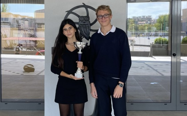 Carolina Bafas and Karl Eichholz were the overall winners of the competition