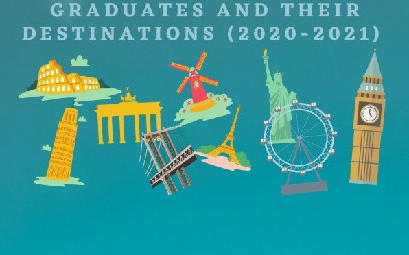 Some of the graduates' destinations