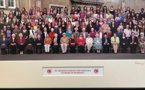 2012 - Boarding Centenary Photo