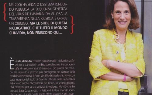 Dr Ilaria CAPUA, DVM, PhD (Alumna)