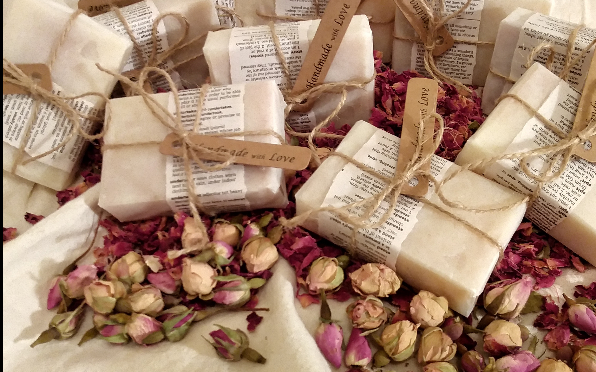 Individually Hand Crafted bars of Soap that will nourish, cleanse and leave you smelling divine..