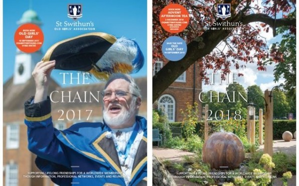 The OGA The Chain magazines 2017 and 2018