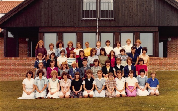 Jenny Forsythe (Martin) ED 1983 second from the left third row down