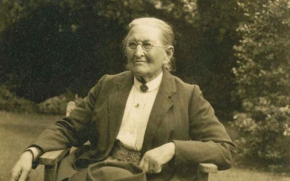 Anna Bramston in 1922
