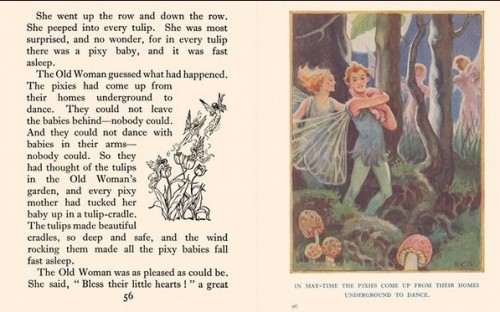 Pages from The Talkative Sparrow and other stories, by Elizabeth Clark