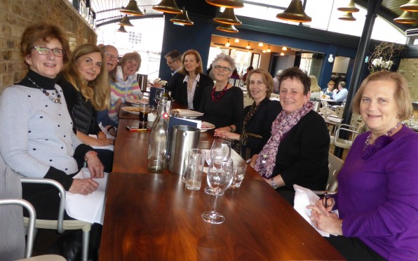 Class of 1968 - reunion lunch in the West Country