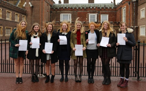 DofE gold achievers receive awards at St James's Palace