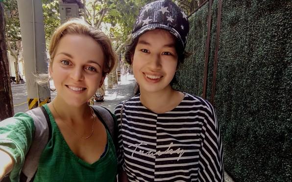Pippa and Stephanie Stradmoor HC 2015 in Shanghai