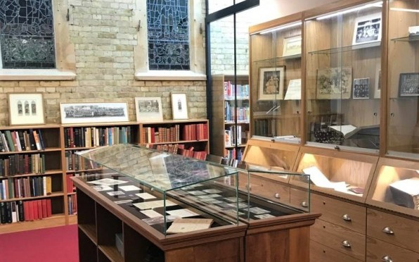 Our dedicated archive room is situated in The Mark Shvidler Library