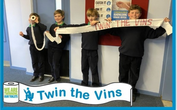 Twin the Vins - enabling poorer communities access to toilets and clean water.