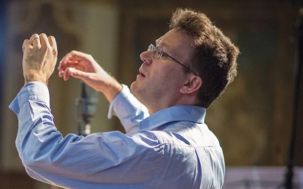 Julian Perkins, Artistic Director of Cambridge Handel Opera (Luke Koch de Gooreynd)