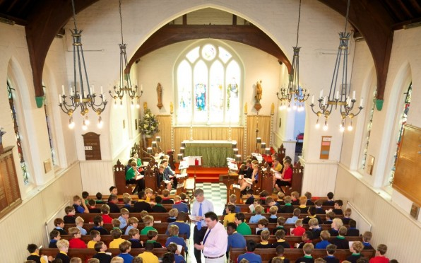 During term time the Chapel is used on an almost daily basis as a place of worship