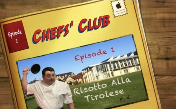 Mr Edwards' Chef's Club is both educational and entertaining