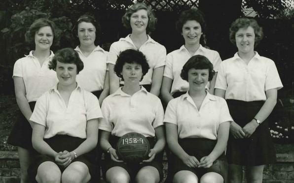Netball Team, 1958-9