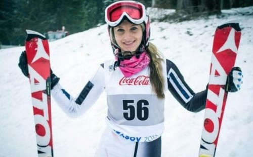 Darcie Mead in Sochi