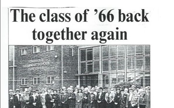 Class of 1966 reunion in 1999