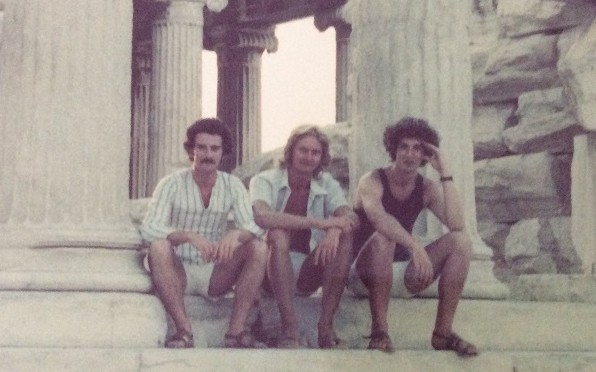 The friends in 1974